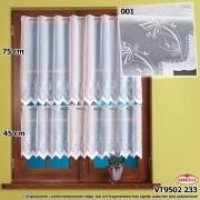 Zazdrostka woal haftowany 9502/75cm