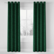 Tkanina dekoracyjna TAMARA kolor ciemno zielony