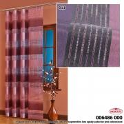 Tkanina zasłonowa 6486 SZER 150cm WYS 4m kolor rudy