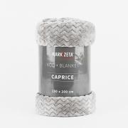 KOC CAPRICE 150 X 200 CM kolor stalowy