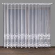 Woal haftowany kolor biały 11923 wys. 250cm