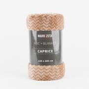 KOC CAPRICE 200 X 220 CM kolor karmelowy