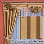 Tkanina zasłonowa SCILLA SZER 150cm WYS 1,5m